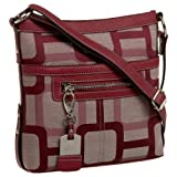 Nine West Vegas Signs Medium Cross-Body ~ Nine West