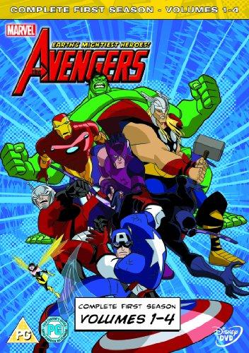 Avengers: Earth's Mightiest Heroes - Volume 1 - 4 [DVD]