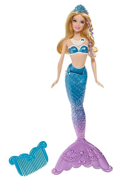 Barbie - Sirène coiffeuse bleue