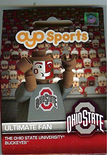 Ohio State Buckeyes NCAA Ultimate Fan Mini OYO Figure