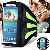 Color Green Waterproof Sport Arm Band Case For Samsung Galaxy S3 S4 S5 S6/Edge S7 Arm Phone Bag Running Accessory Band Gym Pounch Belt Cover
