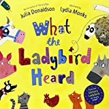 Julia Donaldson What the Ladybird Heard Book and CD Pack