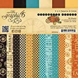 Graphic 45 Steampunk Spells 6x6 Patterns & Solids Paper Pad