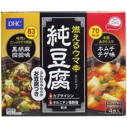 DHC 燃えるウマ辛 純豆腐(スンドゥブ) 4食入【5個セット】