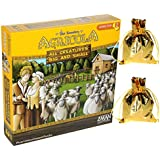 Agricola All Creature Big and Small Game _ Bonus 2 Gold colored drawstring storage pouches