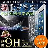 iPad Air 強化 ガラス 液晶保護 フィルム 画面