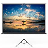 TaoTronics Projector Screen with Stand, TT-HP020 Indoor and Outdoor Movie Screen 120