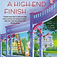 A High-End Finish (       UNABRIDGED) by Kate Carlisle Narrated by Angela Starling