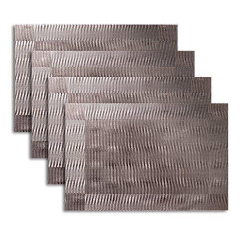 PlacematUartlines-Crossweave-Woven-Vinyl-Non-slip-Insulation-Placemat-Washable-Table-Mats-Set-of-4