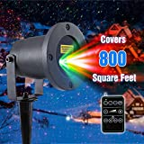 LUCKLED MagicPrime Wireless Control Laser Christmas Lights, Star Projector, IP65 Waterproof for Seasonal Décor, Christmas Holiday, Wedding, Party