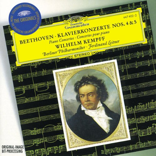 Beethoven-Piano-Concertos-Nos-4-5-Wilhelm-Kempff-Audio-CD