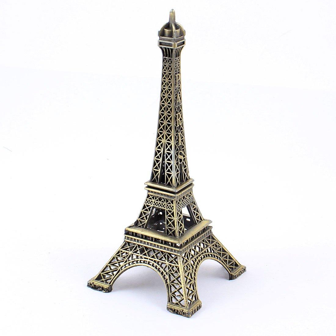 Metallic eiffel tower home decor 13cm paris bronze tone for Paris decorations for home
