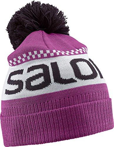 Salomon berretto junior logo beanie aster purple unisex