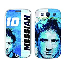 ezyPRNT Samsung Galaxy S3 i9300 Lionel Messi 'Messiah' Football Player mobile skin sticker