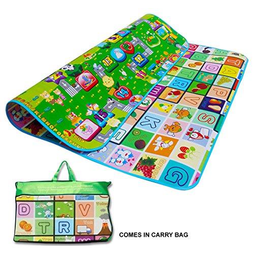 kids-crawling-educational-2-side-play-mat-game-soft-foam-picnic-carpet-200x180cm