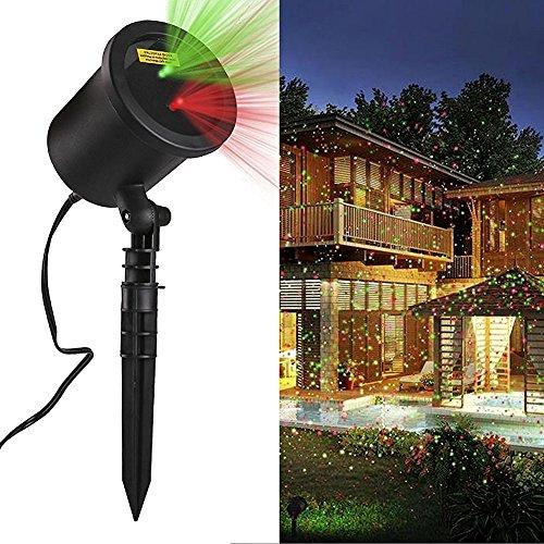 Netz kette proiettore luci di natale da esterno per la for Luci led per casa