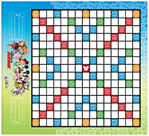 Amazon com disney junior scrabble board game toys amp games
