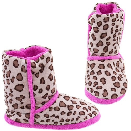Cheap Leopard Print Bootie Style Slippers for Women (B007FVTRJW)
