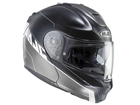 HJC helmets r-pha max evo zoomwalt 5sf, mc-couleur :  noir/gris-taille xL
