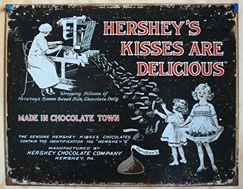 hersheys-kisses-metal-tin-sign-16w-x-125h-by-de