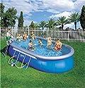 Bestway Quick Up Pool 610cm - Metallstützen - oval
