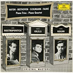 Haydn: Piano Trios H.XV Nos.16 & 19 / Beethoven: Piano Trios WoO38 & Op.97 / Schumann: Piano Trio Op.63 / Faur�: Piano Quartet Op.15