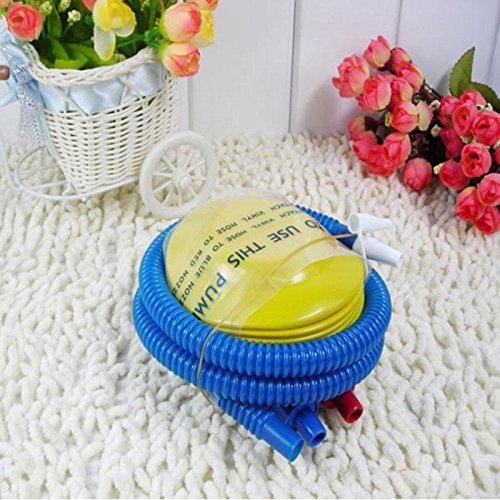 Novelty Nice Balloon Swimming Inflatable Toy Yoga Ball Foot Air Pump Inflator