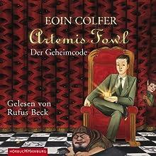 Der Geheimcode (Artemis Fowl 3) Hörbuch von Eoin Colfer Gesprochen von: Rufus Beck