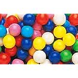 Dubble Bubble Assorted Colors 1/2 Inch Gumballs 1LB Bag