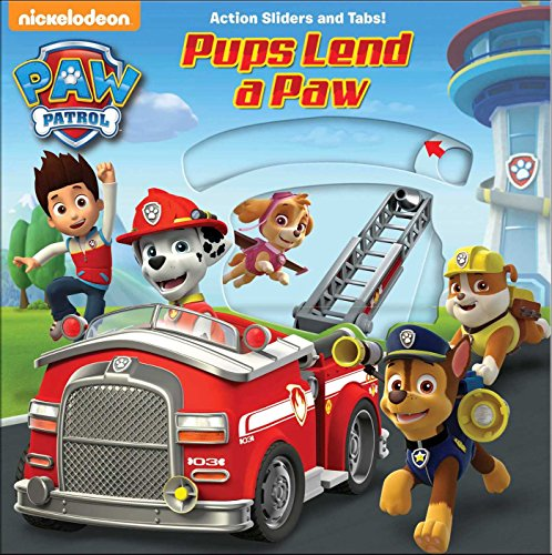 PAW Patrol: Pups Lend a Paw (Paw Patrol - Action Sliders and Tabs!)