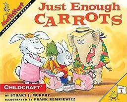 Childcraft MathStart Just Enough Carrots Big Book