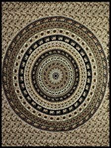 Circle Indian Tapestry 85x100