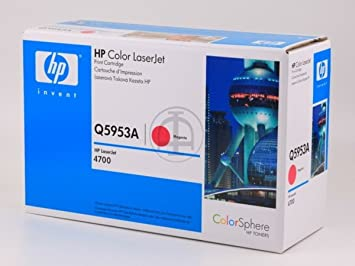 HP - Hewlett Packard Color LaserJet 4700 N (643A / Q 5953 A) - original - Toner magenta - 10.000 Pages