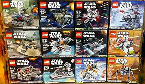 Lego star wars microfighters series 2 storeiadore - Lego star wars 1 2 3 4 5 6 ...