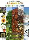 Almanach des saisons par Mettler