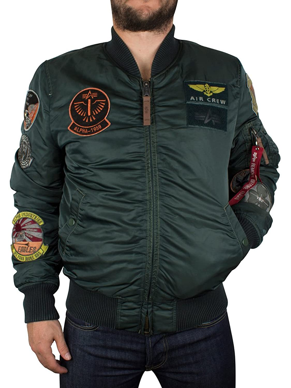 Alpha Industries Herren MA-1 Pilot Jacket, Grün