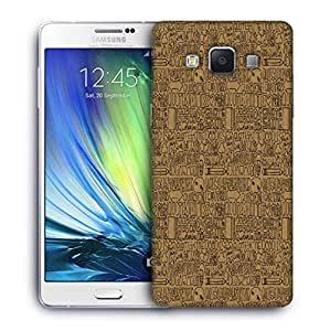 Snoogg abstract Designer Protective Back Case Cover For Samsung Galaxy A7