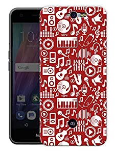 """Music Is My Life Printed Designer Mobile Back Cover For """"Google Infocus M812"""" By Humor Gang (3D, Matte Finish, Premium Quality, Protective Snap On Slim Hard Phone Case, Multi Color)"""