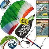 HQ Hydra II 350 V2 Kiteboarding Water Trainer Kite x2 DVD Bundle : Including Progression... by HQ Power Kites, Fat Sand Video Productions, IKO, WindBone