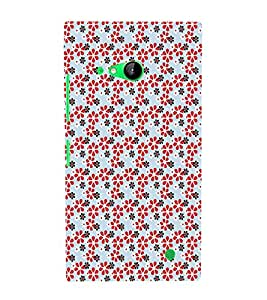 EPICCASE excited blossoms Mobile Back Case Cover For Nokia Lumia 730 (Designer Case)