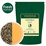 Silver Needle White Tea Leaves from Darjeeling (25 Cups), White Tea Loose Leaf Sourced Direct from High Elevation Estates in the Himalayas, 1.76oz