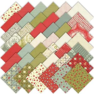 "Amazon.com: Moda Odds & Ends Charm Pack 5"" Quilt Squares"