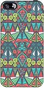 Snoogg Diamond Floral Pattern Designer Protective Back Case Cover Forforapple...