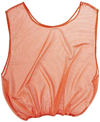 Sportime Mesh Scrimmage Vest - Youth Size - Orange - 1