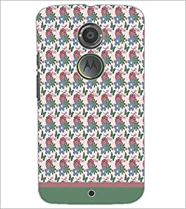 PrintDhaba Love pattern D-1821 Back Case Cover for MOTOROLA MOTO X2 (Multi-Coloured)