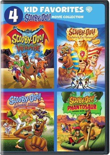 DVD : 4 Kid Favorites: Scooby-Doo! Movie Collection (Boxed Set, 4 Disc)