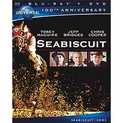 Seabiscuit [Blu-ray + DVD] (Universal's 100th Anniversary)