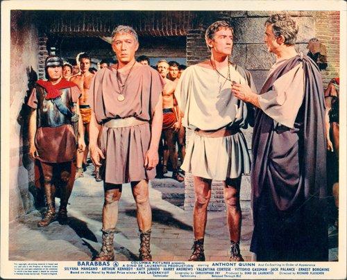 Barabba originale Lobby di Anthony Quinn Vittorio Gassman