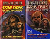 Ancient Blood: Day of Honor #1 (Star Trek The Next Generation) (0671002384) by Diane Carey