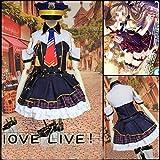 【Guirui】LoveLive!ラブライブ! μ's 南ことり 音ノ木坂学院 職業編 警察 婦警 南ことり コスプレ衣装 コスプレ 仮装 変装 変身 可愛い 制服 帽子付き